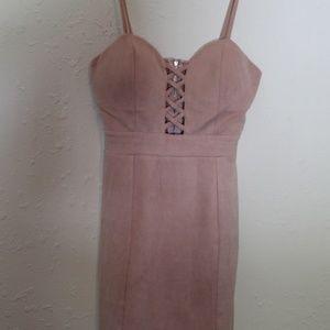 Mauve Windsor mini dress